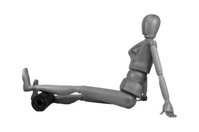 Bild Faszienrollen für das Faszientraining der Beine