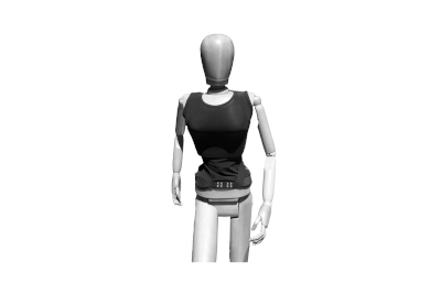 Bild Ein Shirt mit Geradehalter zur Korrektur der Haltung