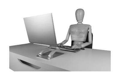 Bild Gute Laptop-Ständer für mehr Ergonomie am Computerarbeitsplatz