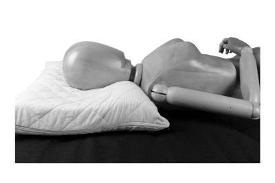 Bild Nackenkissen und Seitenschläferkissen zum Einstellen – entspannt liegen, gut schlafen