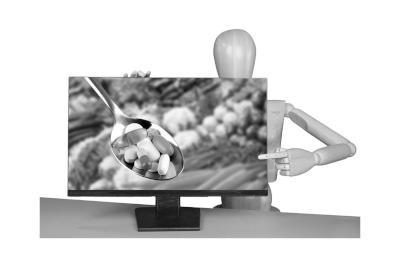 Bild Nahrungsergänzungsmittel bei Knieschmerzen