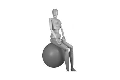 Bild Bewegung im Sitzen durch Fitnesshocker, Sitzbälle und Ballkissen