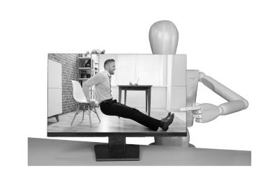 Bild Die passende Anleitung mit Übungen für den Arbeitsplatz