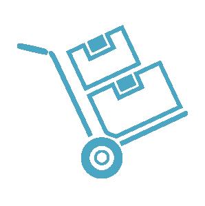 Das Bild zeigt eine Sackkarre zum Bewegen von Lasten als Symbol für den thematischen Omokeya-Schwerpunkt Arbeits- und Hilfsmittel.