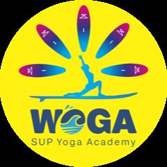 Logo WOGA SUP Yoga Academy