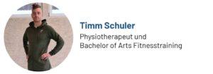 Das Foto zeigt den Physiotherapeuten Timm Schuler, Autor des Beitrags über seinen Podcast bei Arthrose und Gelenkschmerzen