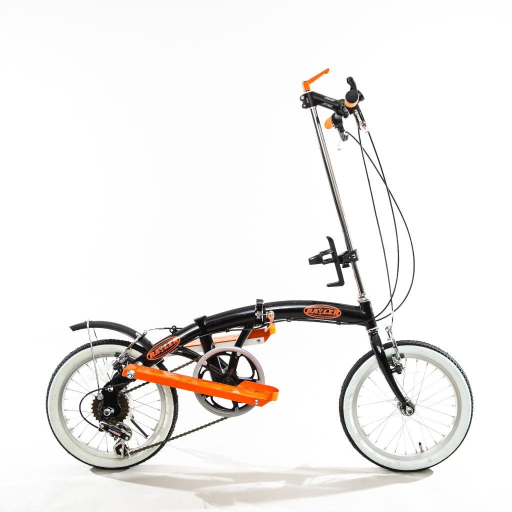 Das Bild zeigt den Rayler Zweiradstepper in der Seitenansicht